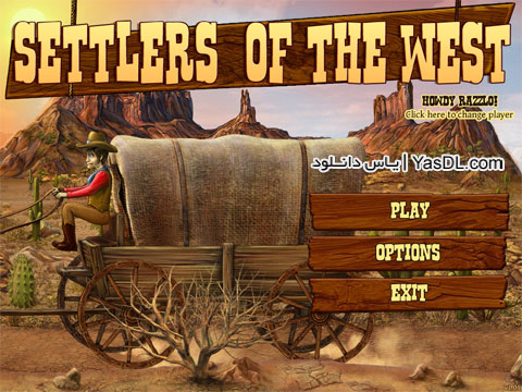 دانلود بازی کم حجم Settlers of the West برای PC